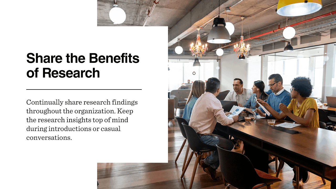 Share the Benefits of Research