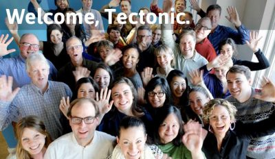 Welcome Tectonic Header