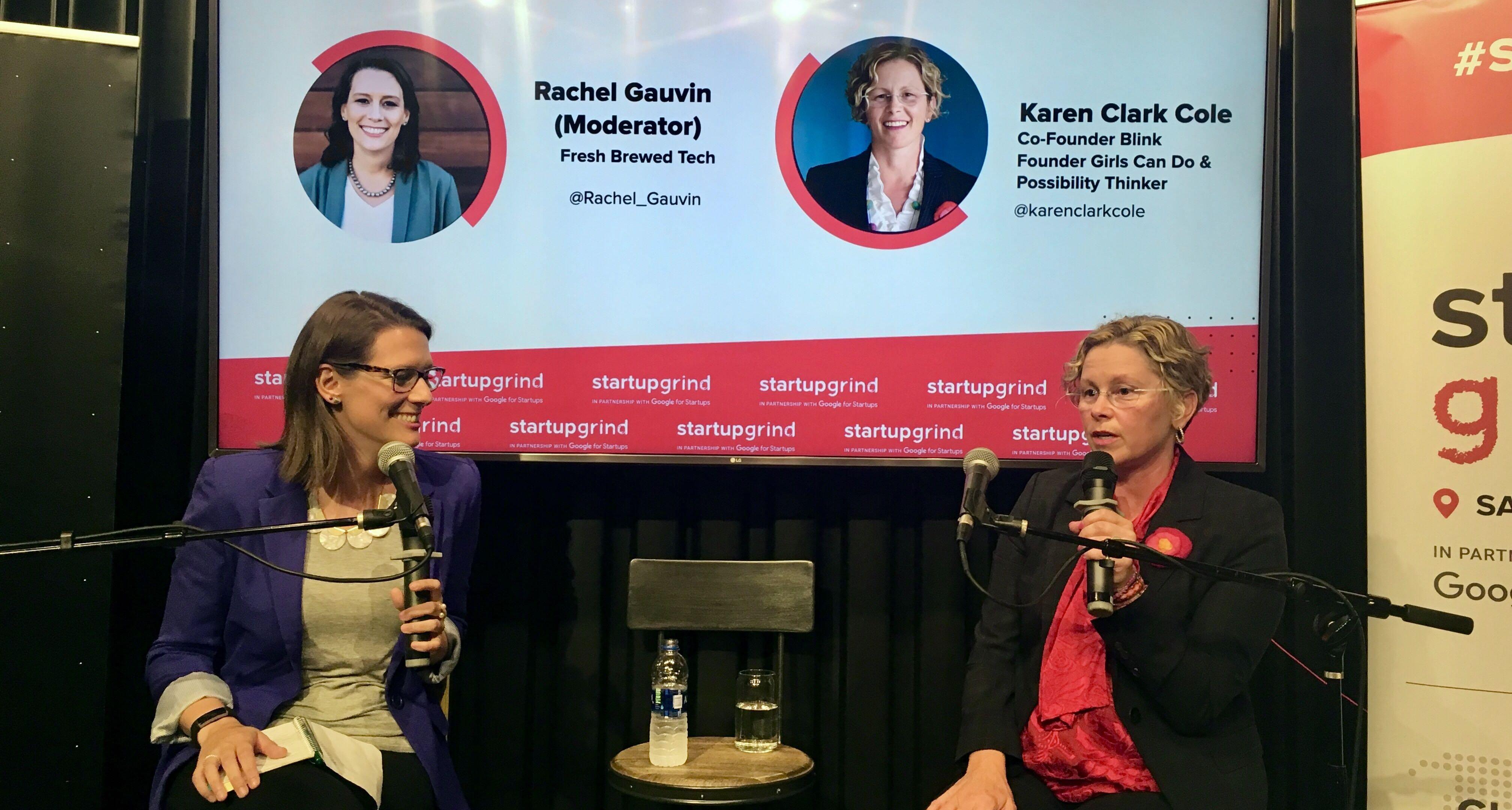 Startup Grind & Fresh Brewed Tech: Karen Clark Cole Interview